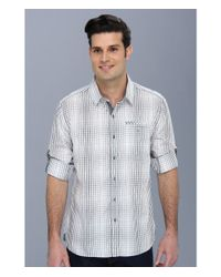 7 Diamonds - Brown Wings Of The Morning Ls Shirt for Men - Lyst
