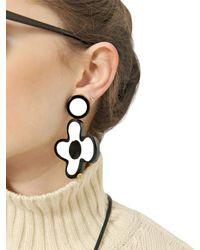 Marni - Black Winter Edition Earrings - Lyst