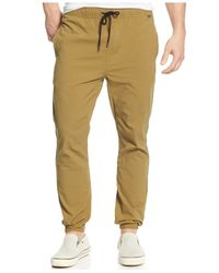 Hurley | Green Drifter Dri-fit Joggers for Men | Lyst