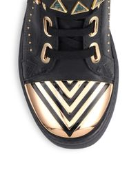 Ivy Kirzhner - Black Lunar Heavy Sneakers - Lyst