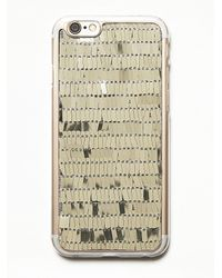 Free People | Metallic Womens Glitterati Iphone Case | Lyst