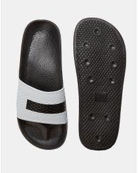 Slydes - Stars Slider Flip Flops - Black for Men - Lyst