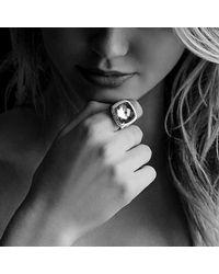David Yurman | Blue Albion Ring With Black Onyx And Diamonds | Lyst