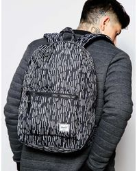 Herschel Supply Co. - Black Settlement Backpack 23l for Men - Lyst