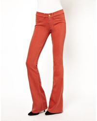M.i.h Jeans | Red The Skinny Marrakesh in Clay | Lyst