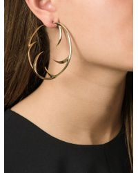Shaun Leane | Metallic 'multi Cat Claw' Hoop Earrings | Lyst