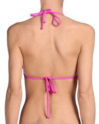 Billabong - Pink Bikini Top - Lyst