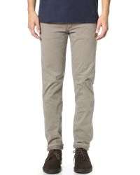 Citizens of Humanity | Gray Bowery Pure Slim Twill Jeans for Men | Lyst