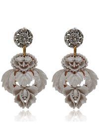 Lulu Frost | Gray Mid Grey Katherine Resin Earrings | Lyst