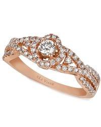 Le Vian - Pink Diamond Diamond Ring (5/8 Ct. T.w.) In 14k Rose Gold - Lyst