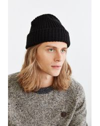 Urban Outfitters | Black Lumberjack Cuffed Beanie for Men | Lyst