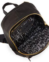 L.A.M.B. | Black Iban Logo-embossed Backpack | Lyst
