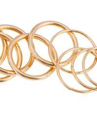 H&M - Metallic 16-Pack Rings - Lyst