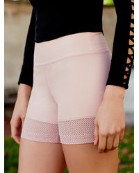 Free People | Pink Hot Trot Under Short Hot Trot Layering Tank | Lyst