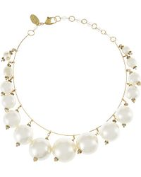 Erickson Beamon | White Lady And The Tramp Necklace - For Women | Lyst