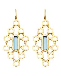 Astley Clarke - London Blue Topaz Chandelier Earrings - Lyst