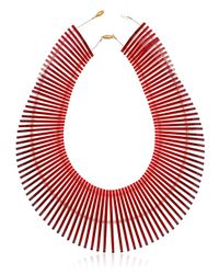 Sarah Angold Studio | Red Special Edition Diaflo Necklace | Lyst