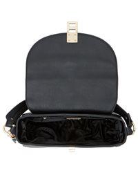 Dune - Black Deidre Twist Lock Shoulder Bag - Lyst
