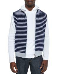 Michael Kors - Blue Mariner Reversible Vest for Men - Lyst