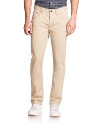 Polo Ralph Lauren - Natural Varick Slim-straight Jeans for Men - Lyst