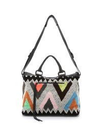Cleobella | Multicolor Forever Weekender - Geo Embroidery | Lyst