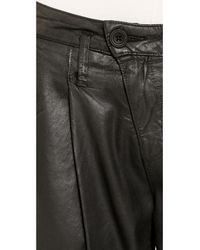 DWP - Drew Crop Pants - Luca Black - Lyst