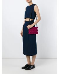 Bao Bao Issey Miyake   Pink Prism Cross-Body Bag   Lyst