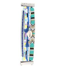 Hipanema - Blue Fluoblu Bracelet - Lyst