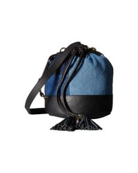 See By Chloé | Black Leather Tassle Bag | Lyst