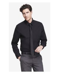 Express | Black Classic Fit 1mx Shirt for Men | Lyst