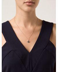 Ileana Makri | Metallic 'kitten Eye' Pendant Necklace | Lyst