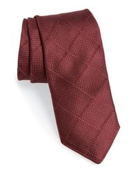 Todd Snyder | Purple Windowpane Silk Tie for Men | Lyst