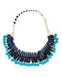 Rosantica - Blue Beaded Necklace - Lyst