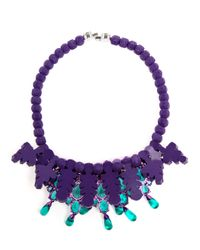 EK Thongprasert - Purple 'De Poisson' Necklace - Lyst