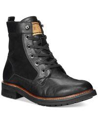 Guess | Black Reid Boots for Men | Lyst