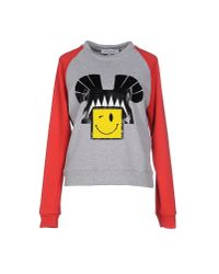 Leitmotiv - Gray Sweatshirt - Lyst
