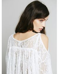 Free People | White Lost In Austin Top | Lyst