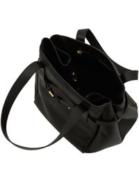 Marni - Black Strap Detail Leather Bag - Lyst