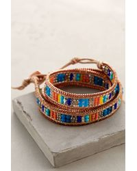 Anthropologie | Multicolor Castillo Wrap Bracelet | Lyst