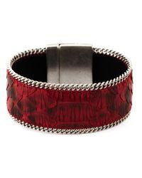 Aech Cheli | Red 'gun' Bracelet | Lyst