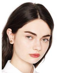 Kate Spade | Metallic Dainty Sparklers Reversible Earrings | Lyst