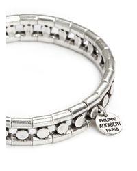 Philippe Audibert - Metallic 'chris' Bead Elastic Bracelet - Lyst