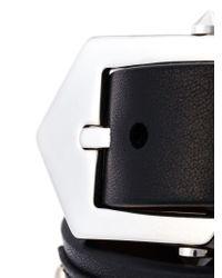 Givenchy   Black Studded Bracelet   Lyst