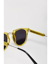 Forever 21 | Yellow Spitfire Teddy Boy 2 Sunglasses | Lyst