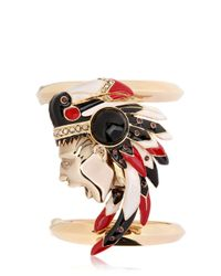 Schield | Metallic Indian Bracelet | Lyst
