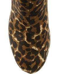 MICHAEL Michael Kors - Multicolor Lesly Leopardprint Calf Hair Ankle Boots - Lyst