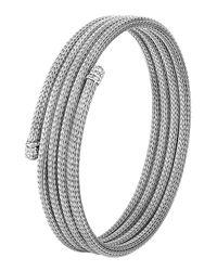 John Hardy | Metallic Classic Chain Small Diamond Coil Bracelet | Lyst