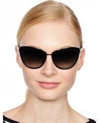Kate Spade | Black Kandi Sunglasses | Lyst
