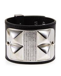 Rebecca Minkoff - Black & Silver-Tone Bracelet - Lyst