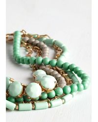 Ana Accessories Inc - Green Yes You Glam Necklace In Mint - Lyst